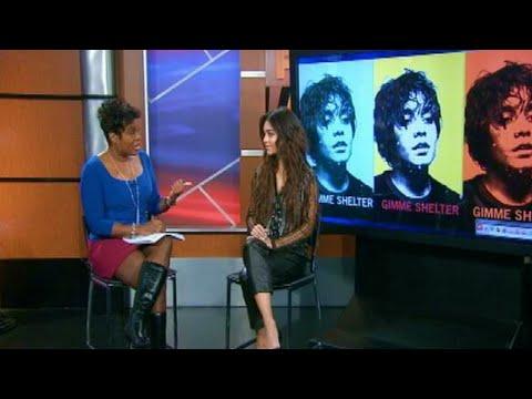 Vanessa Hudgens - Fox5 Atlanta (January 10)