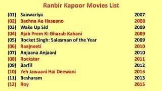 download lagu Ranbir Kapoor Movies List gratis