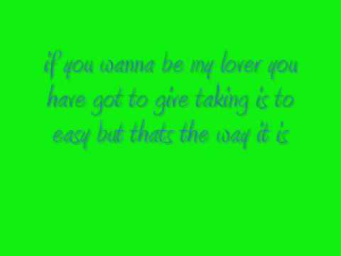 if you wanna be my lover spice girls lyrics