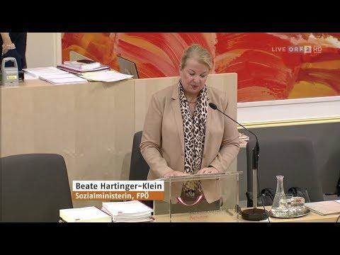 Beate Hartinger-Klein - Sozialversicherung neu - 24.10.2018