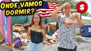 SOBREVIVENDO O DIA INTEIRO COM 15 DÓLARES NOS EUA! - KIDS FUN