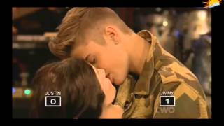 Justin Bieber French Kissing Mannequin  2013 HD