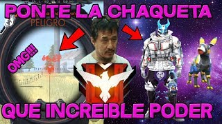 CON ESTA CHAQUETA TODOS SEREMOS HEROICOS!!! SOLO VS SQUAD!!! FREE FIRE!!! REVISA MI CASO #12
