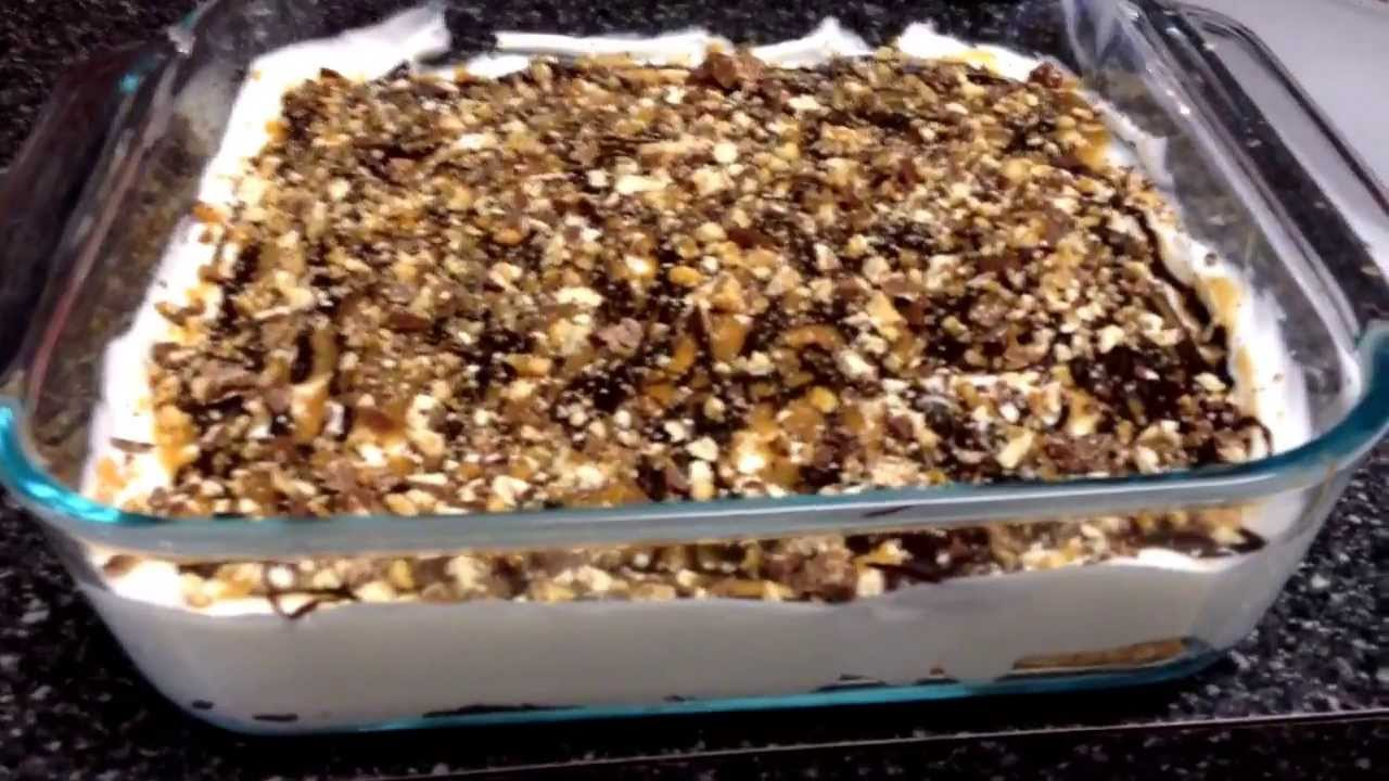 ... Weight Watchers Friendly - Snickers Bar Pie! 4 Points Plus! - YouTube