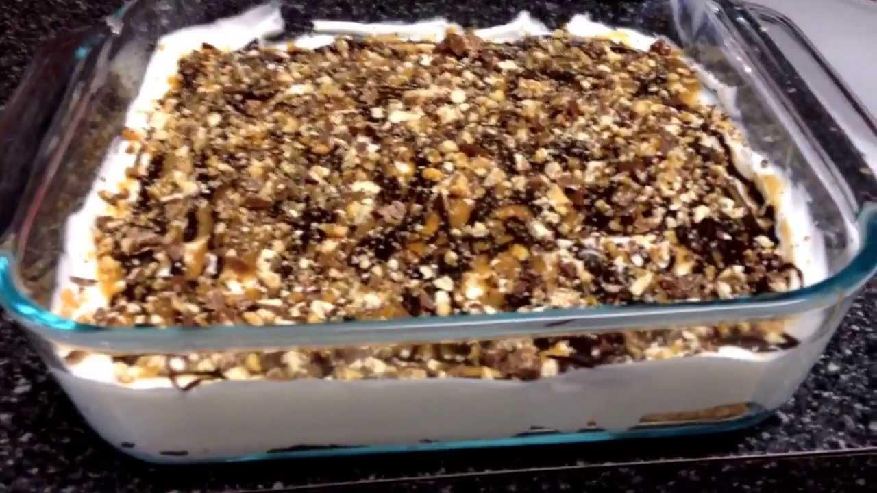 Snicker's Bar Pie Recipe — Dishmaps