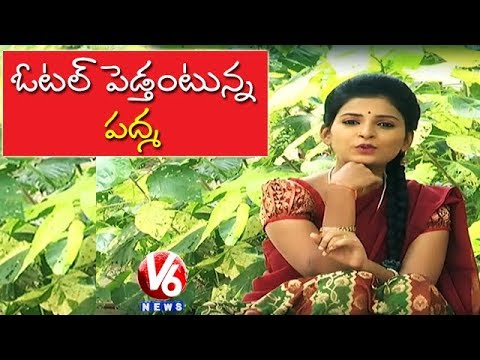 Padma Plans To Start Hotel Business In Hyderabad | Teenmaar News | V6 News