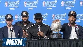 LeBron James Post-Game 5 Press Conference With Cameos