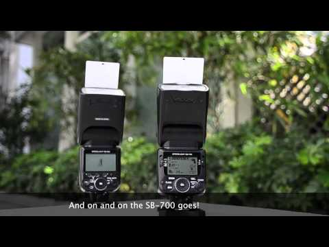 Nikon SB-900 VS SB-700 - Overheating demonstration