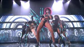 Rihanna Video - Rihanna What's My Name + Only Girl In The World ~American Music Awards 2010~