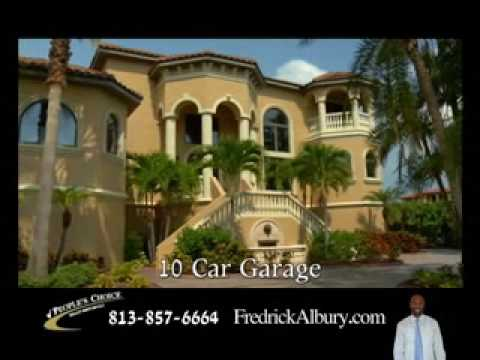 Albury Homes - Luxury Apollo Beach Florida Ocean Front Home for Sale. 0:33