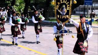 Banda Brazilian Pipers no 21 GAC