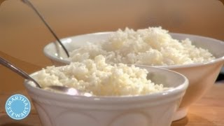 How to Clean White Rice - Martha Stewart