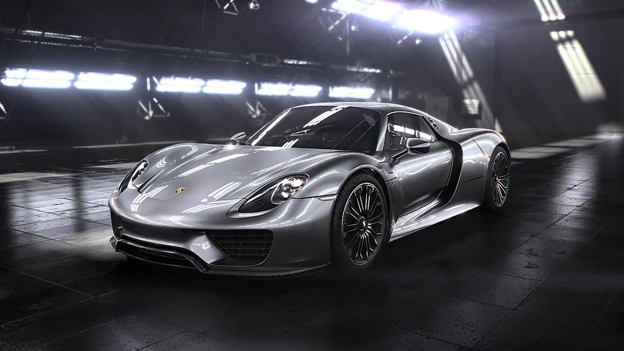 Porsche 918 Spyder 2013 Official Reveal Promo Youtube