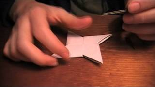 How To Make An Origami Star The Fun Way. [see Video Description]