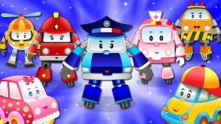 The Super5 Rescue Team l Meet Baby Cars Friends l Kids Cartoon Rhymes