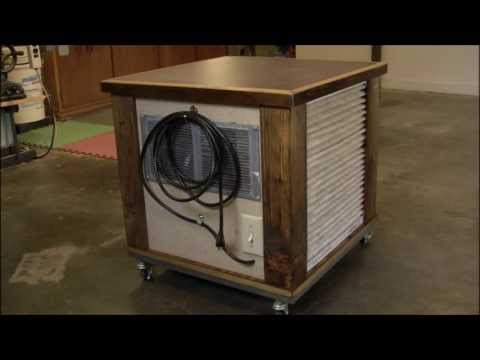 DIY - Simple Woodshop Air Filtration System