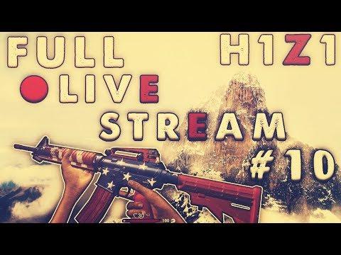 H1Z1 King of the Kill - 14 Kill Win & 10 Kill Win! Full Stream #10