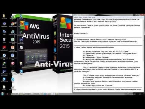 Como Ativar e Crackear o AVG Internet Security 2015 Exclusivo 2015