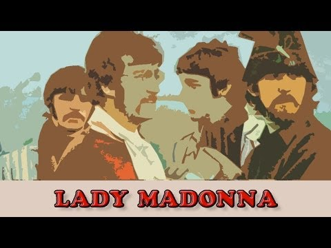 Beatles - Lady Madonna (Arrangement Picking By Marcel Dadi)