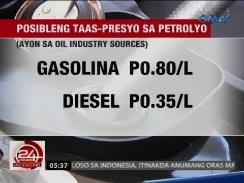 24 Oras: Oil price hike, posible muli ngayong linggo