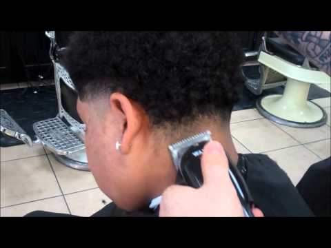 HOW TO DO A TAPER WITH CURLY LONG HAIR BY DANNY DA BARBER