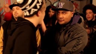 AHAT NEXT | Rap Battle | Nik Jones vs El Solo | Utah vs Washington