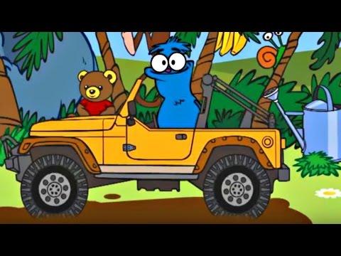Развивающий мультфильм. Чуча Веселкин в джунглях. Дикие животные.