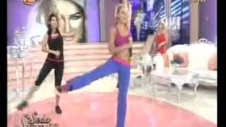 Zumba Toning on Turkish Tv Beyazın Sultanı Seda Sayan Show 2013