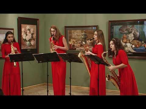 G.F.Handel-Arrival of the Queen of Sheba. Misteria Saxophone Quartet