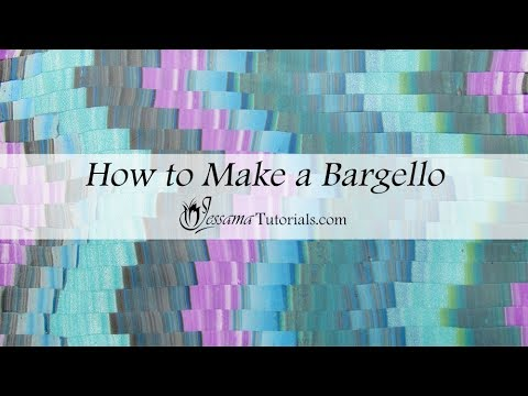 Polymer clay Bargello Tutorial