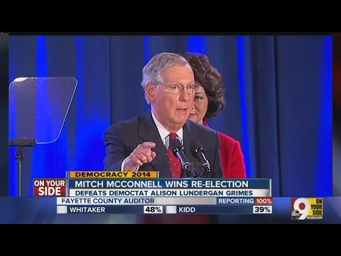 Mitch McConnell wins re-election