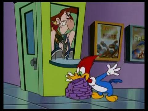 El Pajaro Loco Episodio 18-Woody y la pelicula de miedo