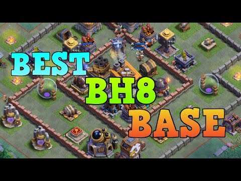 (10.13 MB) BEST BH8 BASE LAYOUT WITH REPLAY   COC BUILDER HALL 8 BEST TROPHY BASE   CLASH OF CLANS