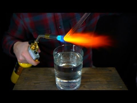 How to Make Prince Rupert's Drops - Glass That Fractures at the Speed of High Explosives