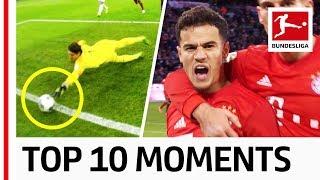 Top 10 Moments in December - Great Fair Play, Leipzig on Top amp Lewandowski vs. Werner