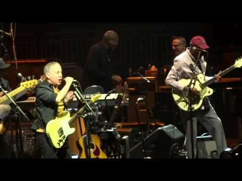 """Late in the Evening"" Paul Simon & Sting@Giant Center Hershey, PA 3/9/14"