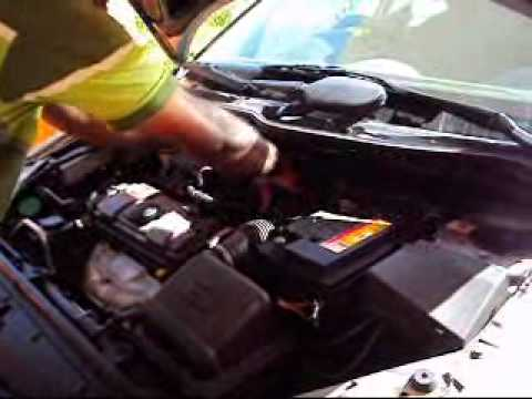 Peugeot 206 Idle speed sensor replacement