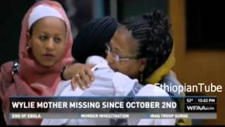 Heart breaking video  Two days ago Family and Ethiopians pray and prepare to find Almaz alive