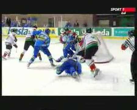 Hungary - Ukraine Div.I. WC. 2008 - HIGHLIGHTS