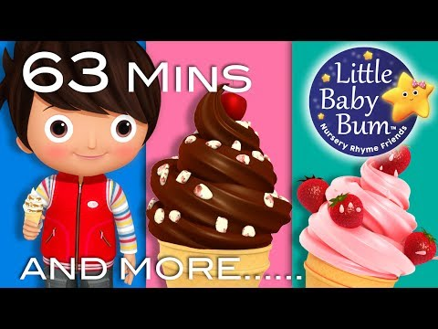 Ice Cream Song | Part 2 | Plus Lots More Nursery Rhymes | 63 Minutes Compilation from LittleBabyBum!