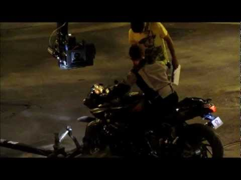 Dhoom 3   Aamir shooting