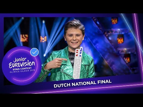 Matheu wins the Dutch selection for Junior Eurovision 2019!