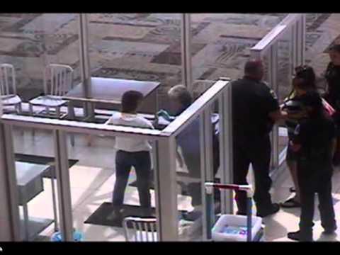 Nashville Intl Airport police arrests Andrea Abbott