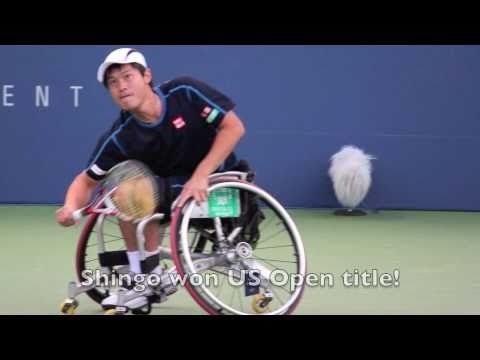 Shingo Kunieda Wheelchair テニス Champion 全米オープン 2010