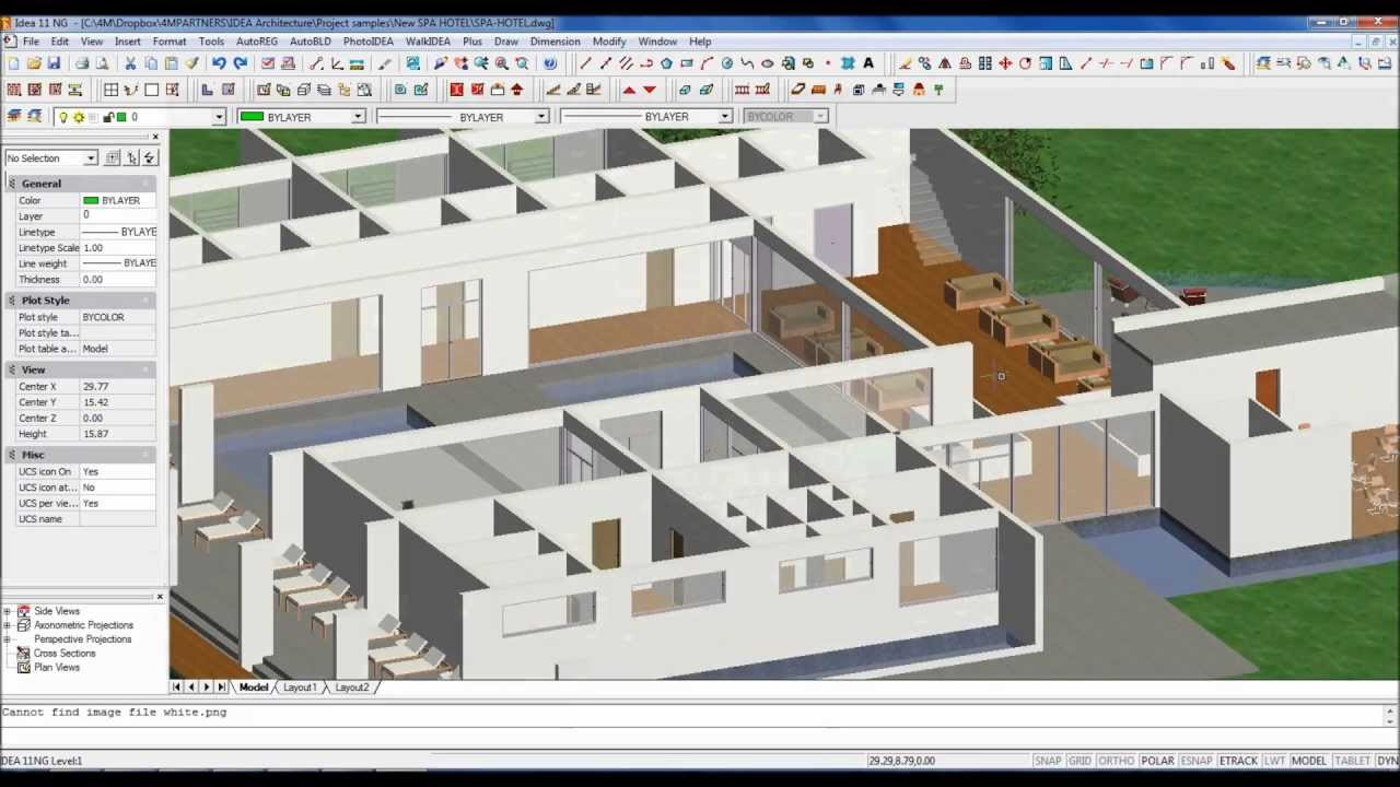 Bim software for 3d architecture in dwg youtube for Easy to use architectural design software