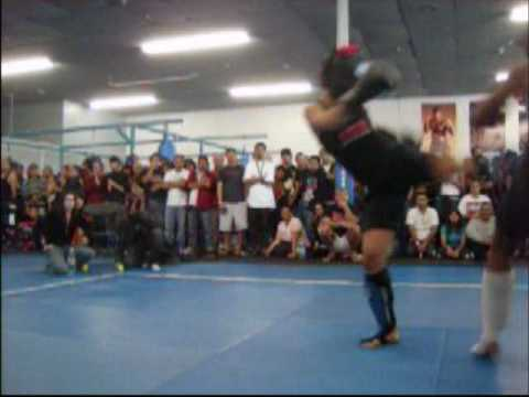 The Nubian Princess- Girls Sparring - American Kickboxing Academy SJ. Image 1
