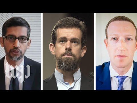 WATCH LIVE Facebook, Google and Twitter CEOs testify in front of Senate