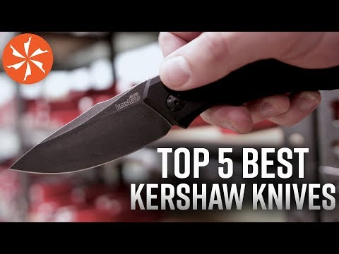 The Top 5 Best Kershaw Knives Available at KnifeCenter.com