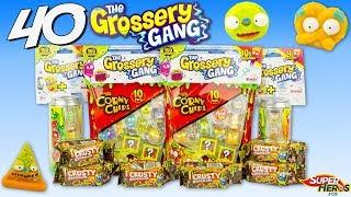 40 Grossery Gang Surprise Produits Dégoutants Périmés Shopkins Trash Pack Jouet Unboxing Simba