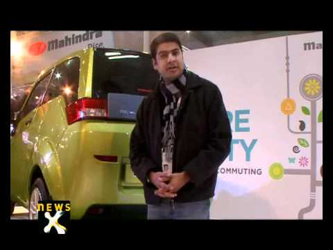 Review: Mahindra Reva electric car launched at India Auto Expo 2012